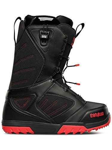 Mens Groomer Fast Track Snowboard Boot  85 REG  BLACK *** Want additional info? Click on the image.