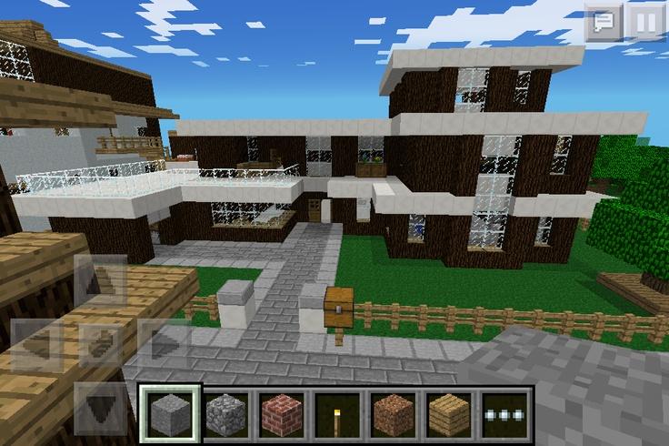 A minecraft house I made!!!