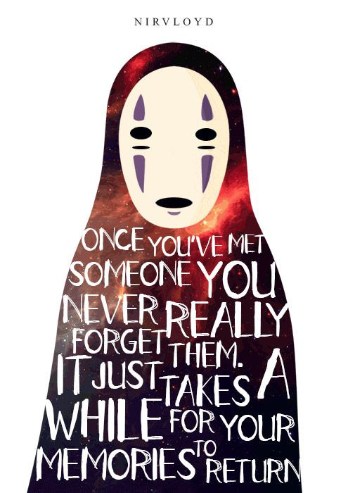 Kaonashi, No-Face - Spirited Away - 9GAG