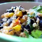 Quinoa met zwarte bonen en komijn recept - Allrecipes.nl