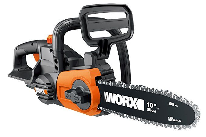 Worx Wg322 9 Cordless Chain Saw Chainsaw Tool Only Cordless Chainsaw Chainsaw Best Chainsaw