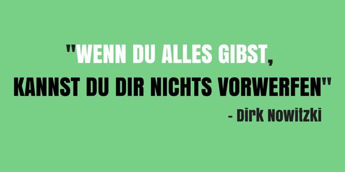 Dirk Nowitzki Spruch