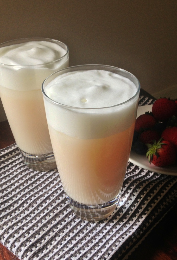 Iced Mango White Tea Froth