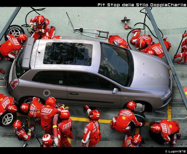 Pit Stop Fiat Stilo by Heineken79.deviantart.com on @deviantART