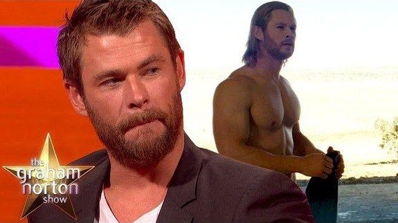 Chris Hemsworth tells a dirty Thor joke he's clearly told many times http://ift.tt/1RSP1jf  Turns out that when you play a strapping hunky superhero  people just want to tell you jokes.  Australian actor Chris Hemsworth told Graham Norton one of the particularly naughty ones with the practiced air of someone who has both heard and told this joke many many times.  SEE ALSO: 23 things you need to know about Tom Hiddleston  Also discussed are the many people and animals British actor Stephen…