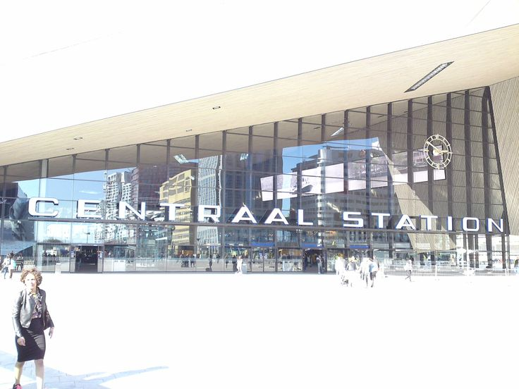 new train station in Rotterdam (architects: benthem crouwel)