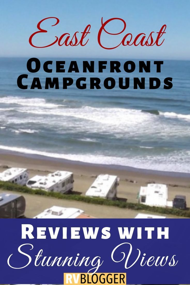 21 Best Rv Campgrounds On The Beach East Coast Guide In 2020 Beach Camping Tips Rv Parks And Campgrounds Camping Destinations