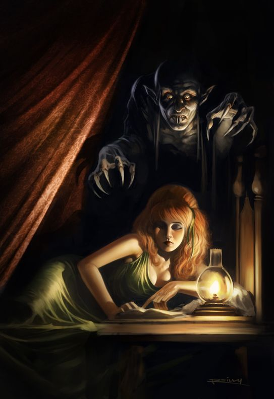 In case you were wondering... This is what real vampires look like. - Vampyre by PReilly.deviantart.com on @deviantART