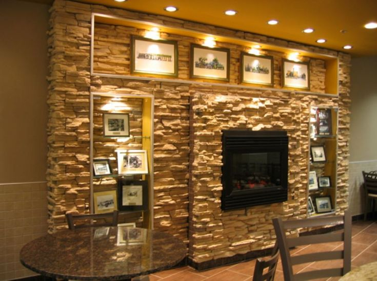 Decorative Indoor Rock Walls : Decorative stone wall awesome ideas