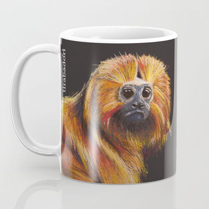 Golden Lion Tamarin Mug by Tirabadori   Society6