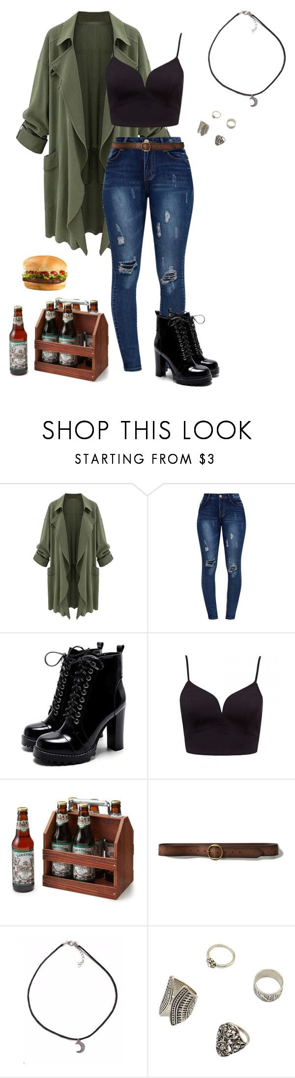 """""""Oversized Coat"""" by gone-girl ❤ liked on Polyvore featuring Abercrombie & Fitch"""