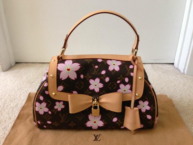 Louis Vuitton Cherry Blossom Sac Retro Bag Limited Edition ...
