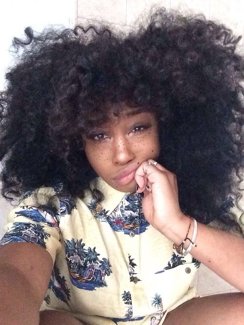 SZA Sometimes I wish I had freckles maybe I could just paint some on and look as cute as her
