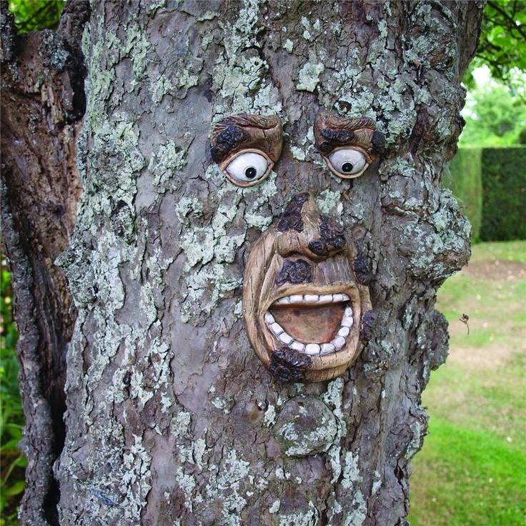 Reveal your tree's inner spirit with this wise old tree spirit. Tree spirit legends are present in almost every culture in the world. It is said that when the spirit in a tree is released, it will bring blessings and good fortune to all beneath the shelter of it's branches.
