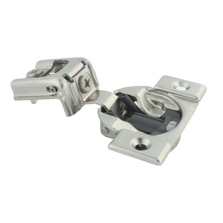 Blumotion 39C Series 1-inch Overlay 110-degree Compact Screw-on Self-closing Cabinet Hinges