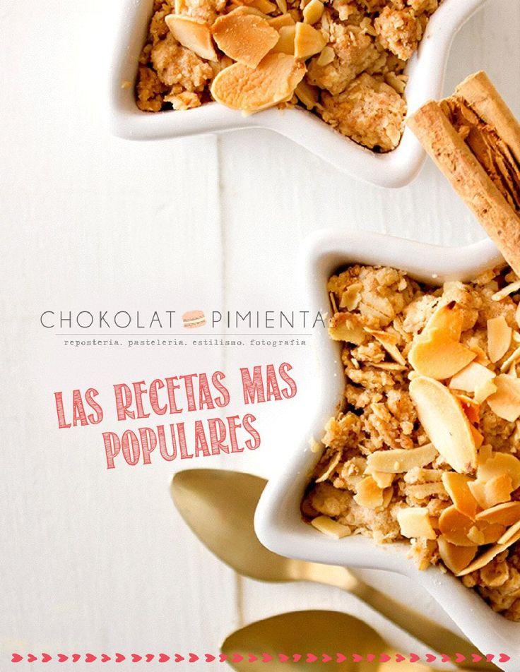 Las Recetas  más populares de Chokolatpimienta.com  Una pequeña colección de las recetas más populares del blog! Visita chokolatpimienta.com