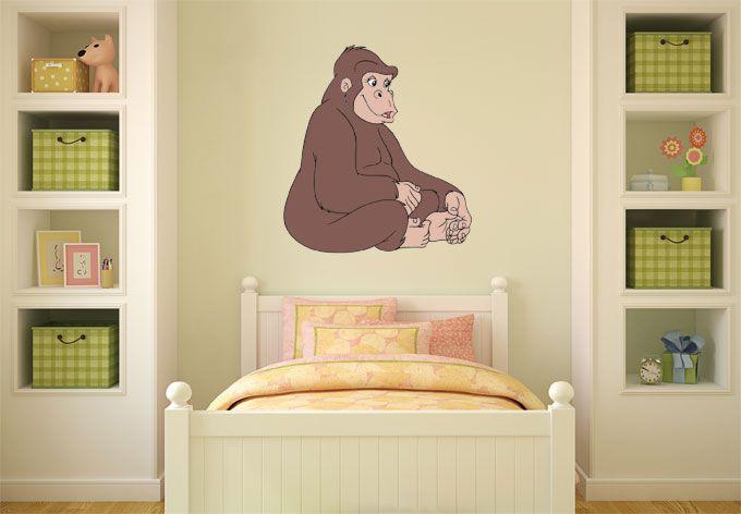 wandtattoo-benjamin-bluemchen-gorilla-gilla-11-5419656.jpg (680×472)