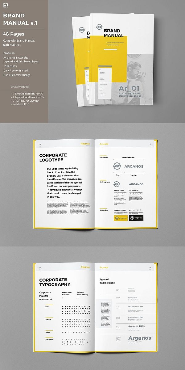 Manual - Cover Page - Templates By Canvamanual design templates
