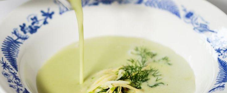 Soppa på rotselleri och gröna ärtor - City Gross