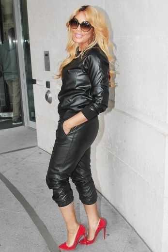 tamar-braxton-bbc-radio-1-london. love love love this outfit.