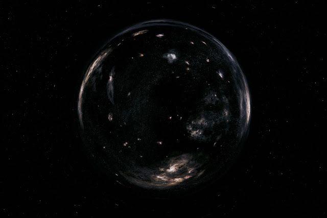 Lubang cacing dalam film Interstellar (2014). Kredit: Warner Bros   SpaceNesia - Jika Kamu pernah menonton film Interstellar, Kamu mungk...