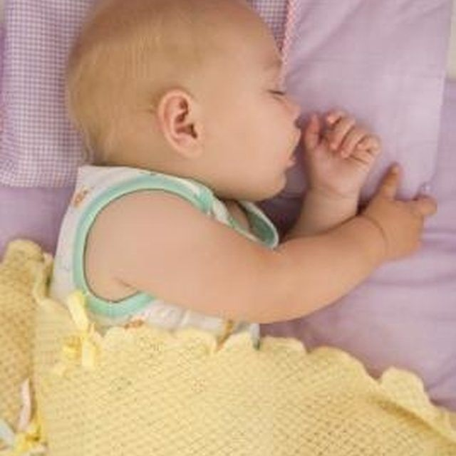 Not every baby will sleep through the night at six months of age.