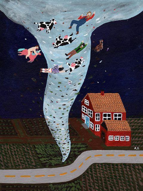 Hurricane by Angela Dalinger