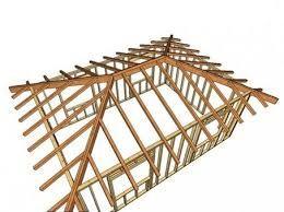 Resultado de imagen para techos de cuatro aguas