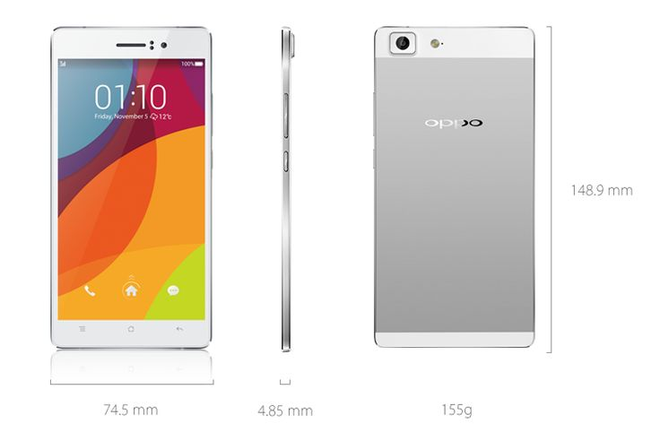 OPPO R5 Spesifikasi, Smartphone tertipis didunia, smartphone paling tipis didunia, Smartphone Oppo terbaru