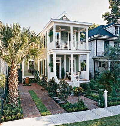 Shotgun style home | Beautiful Homes | Pinterest