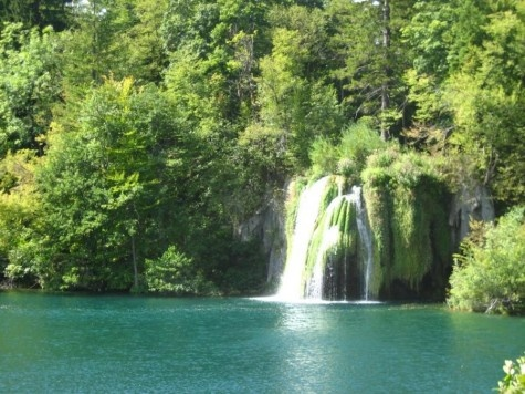 Waterfall - Plitvice Lakes, Croatia