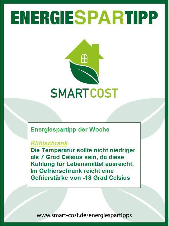 Steiger deine #Energieeffizienz zu Hause, mit unseren #Energiespartipp der Woche www.smart-cost.de/energiespartipps