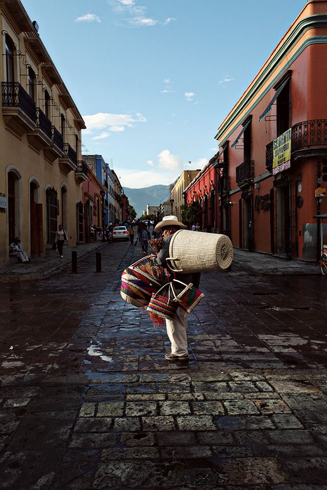 oaxaca city via line x shape x colour