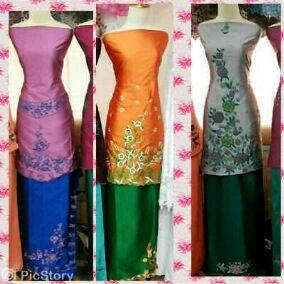 For lovely longdress in 2pcs