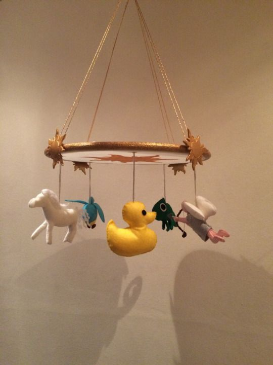 For Sale: Tangled Rapunzel Baby Mobile Replica