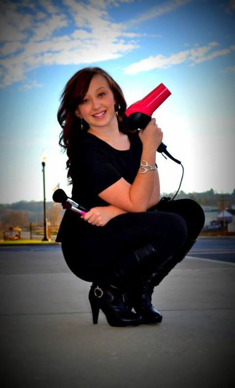 Cosmetology senior picture