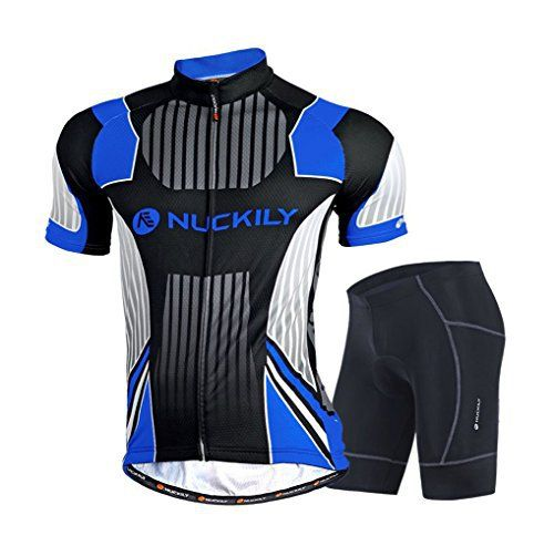Nuckily Men's Cycling Sports Jersey short Sleeve Bike Clothing Sportswear Set Breathable Quick Dry - http://ridingjerseys.com/nuckily-mens-cycling-sports-jersey-short-sleeve-bike-clothing-sportswear-set-breathable-quick-dry-3/