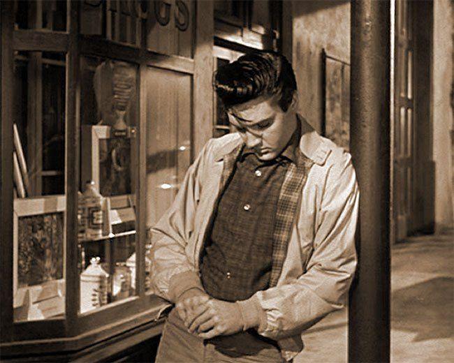 "Elvis Presley, 1958 ""King Creole"""