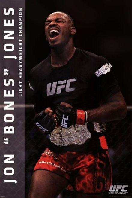 UFC - Jon Jones Poster Print (24 x 36) - Item # PYRPAS0459 - Posterazzi