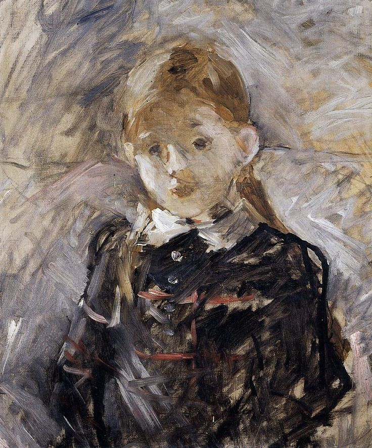 Berthe Morisot. Little Girl with Blond Hair. 1883. Oil on canvas.