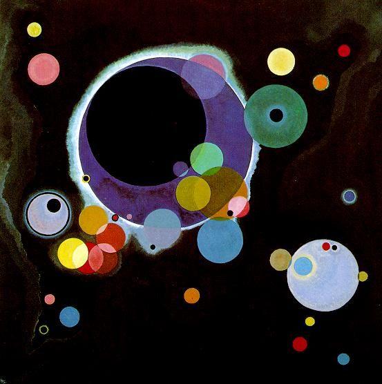 Wassily Kandinsky's - Several Circles