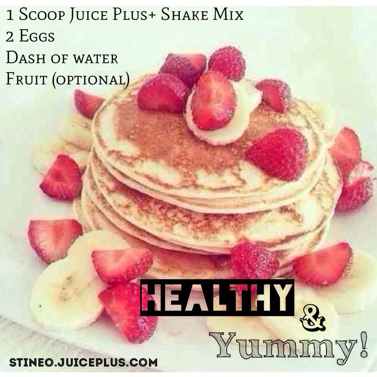 Yummy and healthy pancake recipe using Juice Plus+ complete shake mix! kateross.juiceplus.com