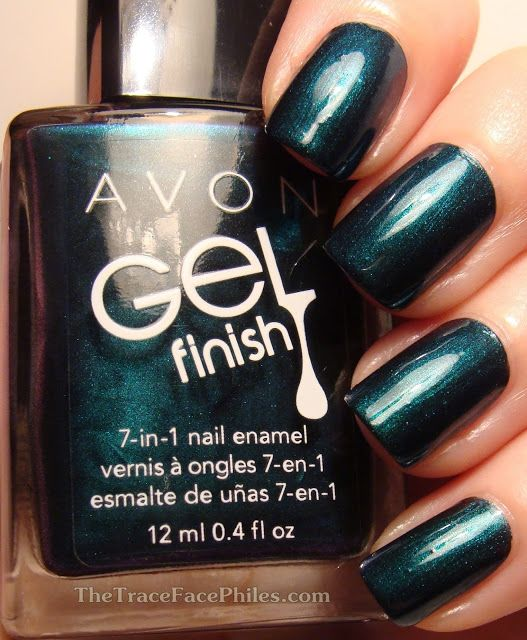 The TraceFace Philes: Avon Gel Finish 7 in 1 Nail Enamel ...