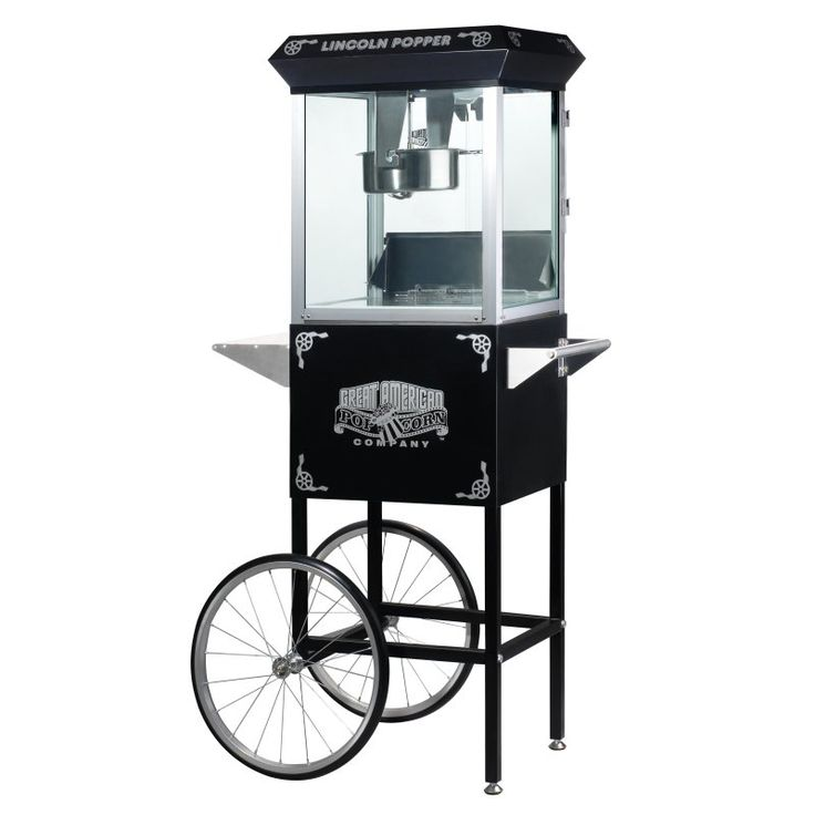 Great Northern Popcorn 6005 Lincoln Antique Popcorn Cart - 6005