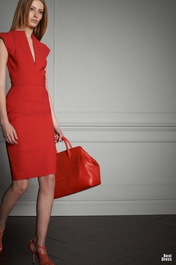 Increíbles vestidos formales para la oficina   Colección de Vestidos Elie Saab