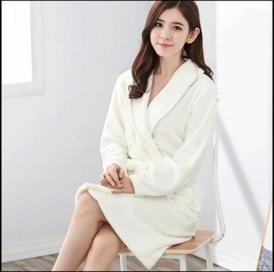 e298c80032 Thickening Flannel Winter Robe Sexy Robes For Women Bathrobe Dressing Gowns  For Women Bathrobes Peignoir Femme