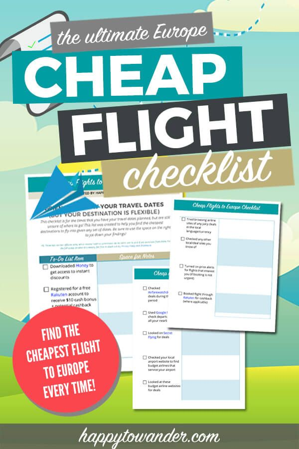 Here S Your Happy To Wander Cheap Flights To Europe Checklist Actually There S 3 In 2020 Cheap Flights To Europe International Travel Tips Europe Travel Tips