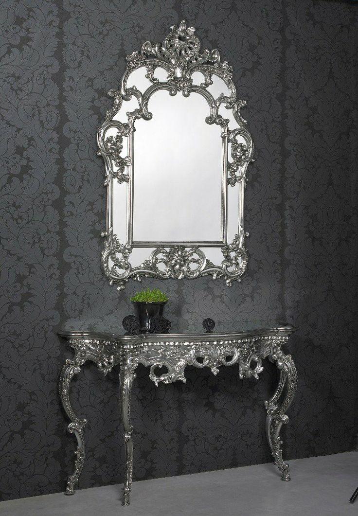Les 78 meilleures images du tableau miroirs design for Miroir baroque design
