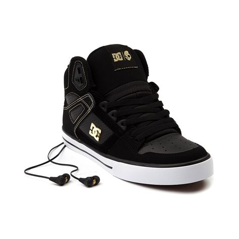 Dillon needs a sz 10.5 Shop for Mens DC Spartan Hi Skate Shoe in Black  White at Journeys Shoes. Shop today for the hottest brands in mens shoes  and womens ...