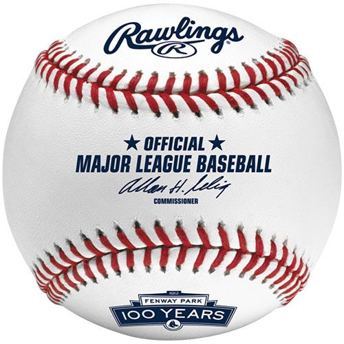 MLBボール ローリングス ボストン・レッドソックス フェンウェイ・パーク 100周年 記念球 / Boston Redsox Fenway Park 100th Anniversary【楽天市場】